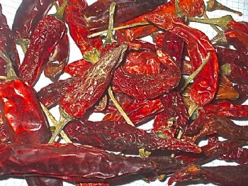 100g Bag of Long Dried Chillies Wreath Making Pot Pourrie